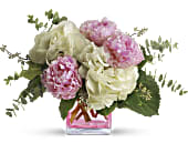 Teleflora's Pretty in Peony in Stockton, California, Silveria's Flowers & Gifts