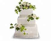 Roses and Ivy Cake Decoration in Kirkland WA, Fena Flowers, Inc.
