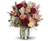 Teleflora's Always Yours Bouquet in Brook Park OH, Petals of Love