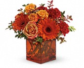 Teleflora's Sunrise Sunset in Bradenton FL, Tropical Interiors Florist