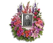 In Memoriam Wreath in Elk Grove, California, Flowers By Fairytales