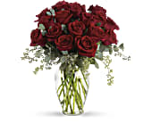 Forever Beloved - 30 Long Stemmed Red Roses in St. Thomas ON, Petals of Love