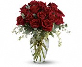 Full Heart - 16 Premium Red Roses in San Clemente CA, Funeral Flowers Funeral