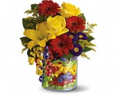 Teleflora's Birthday Ribbon Bouquet Local and Nationwide Guaranteed Delivery - GoFlorist.com