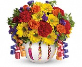 Teleflora's Brilliant Birthday Blooms in Edmond OK, Kickingbird Flowers & Gifts