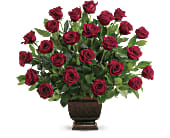 Teleflora's Rose Tribute in Edmond OK, Kickingbird Flowers & Gifts