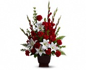 Teleflora's Tender Tribute in Tyler, Texas, Flowers by LouAnn