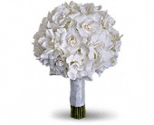 Gardenia and Grace Bouquet in Redwood City, California, A Bed of Flowers