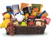 Grande Gourmet Fruit Basket in Cornwall ON, Blooms
