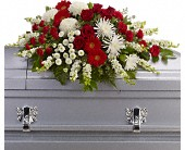 Strength and Wisdom Casket Spray in Bound Brook NJ, America's Florist & Gifts