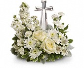 Teleflora's Divine Peace Bouquet in Wynne, Arkansas, Backstreet Florist & Gifts