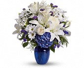 Beautiful in Blue PM in Waxahachie TX, Eubank Florist & Gifts