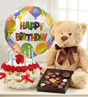1800Flowers Ultimate Birthday Bundle in Woodbridge VA, Lake Ridge Florist