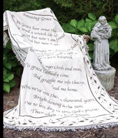Amazing Grace - 2 Layer Throw in Southgate, Michigan, Floral Designs By Marcia