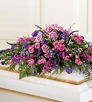 FTD Blanket of Flowers Casket Spray in Woodbridge VA, Lake Ridge Florist