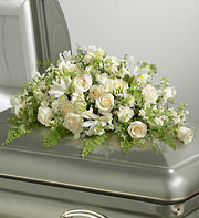 1800Flowers All White Casket Spray in Woodbridge VA, Lake Ridge Florist