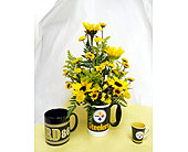 Cranberry Township Flowers - Pittsburgh Steelers Mug - Harolds Flower Shop
