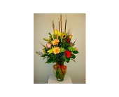 East Naples Flowers - Shades of Autumn - Gene's 5th Ave. Florist