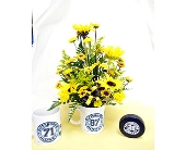 Cranberry Township Flowers - Pittsburgh Hockey Mug - Harolds Flower Shop