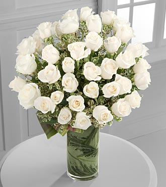 Clarity Luxury Rose Bouquet - 48 Stems of Premium  in Woodbridge VA, Lake Ridge Florist
