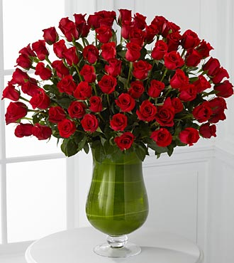 Attraction Luxury Rose Bouquet - 72 Stems of Premi in Woodbridge VA, Lake Ridge Florist