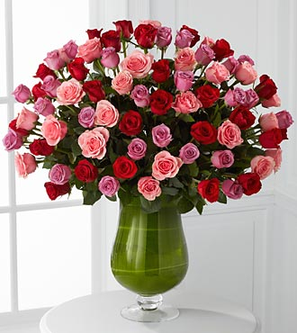 Heartfelt Luxury Rose Bouquet - 72 Stems of Premiu in Woodbridge VA, Lake Ridge Florist