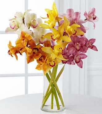 Sunsparkle Luxury Orchid Bouquet in Woodbridge VA, Lake Ridge Florist