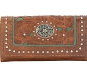 Ladies'' Flap Wallet in Concordia KS, The Flower Gallery
