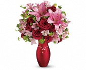 Teleflora's Charm Her Bouquet in Lutherville MD, Marlow, McCrystle & Jones