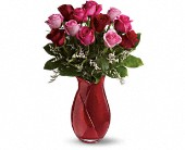 Teleflora's Say I Love You Bouquet - Dozen Roses in Savannah GA, Pink House Florist & Greenhouse