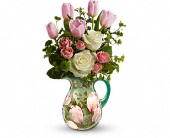 Teleflora's Spring Pitcher Bouquet in Homer NY, Arnold's Florist & Greenhouses & Gifts