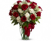 Queen Creek Flowers - Love's Divine Bouquet - Long Stemmed Roses - Sweet Peonies Floral & Gifts