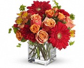 Santa Fe Sunset Bouquet by Teleflora in Springwater ON, Bradford Greenhouses Garden Gallery