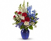 Sea to Shining Sea Bouquet in Muskogee OK, Bebb's Flowers