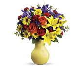 Start the Party Bouquet by Teleflora in New Glasgow NS, McKean's Flowers Ltd.