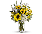 To See You Smile Bouquet by Teleflora in Asheboro NC, Burge Flower Shop