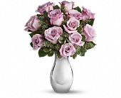 Teleflora's Roses and Moonlight Bouquet in Brook Park OH, Petals of Love