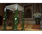Wedding Ceremony in New York NY, Fellan Florists Floral Galleria