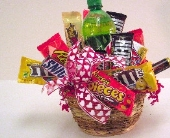 Junk Food Junkie Basket in Big Rapids, Cadillac, Reed City and Canadian Lakes MI, Patterson's Flowers, Inc.