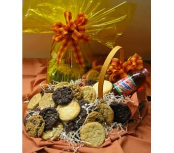 Fresh Baked Cookie Basket in Big Rapids, Cadillac, Reed City and Canadian Lakes MI, Patterson's Flowers, Inc.