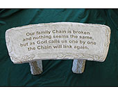Family Chain Bench in Louisville KY, Berry's Flowers, Inc.