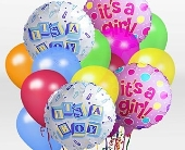 IT'S A BOY OR GIRL BALLOON BOUQUET in Woodbridge VA, Lake Ridge Florist