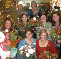 Sips N Stems Christmas in Pell City AL, Pell City Flower & Gift Shop