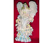 Angel with cherub angels in West Helena AR, The Blossom Shop & Book Store