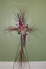 Twig Cross in Scottdale, Pennsylvania, Miss Martha's Floral