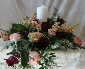 Vintage Pearl Unity Candle in Green Bay, Wisconsin, Enchanted Florist