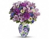 Teleflora's Sweet Violet Bouquet in BoiseID, Blossom Boutique