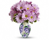 Hillside Flowers - Teleflora's Very Violet Bouquet - The Flower Cart