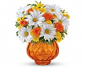 Teleflora's Rise and Sunshine in Oakland CA, Lee's Discount Florist