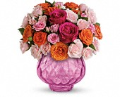 Teleflora's Sweet Fire Bouquet with Roses in Fort Worth TX, Blossoms on the Bricks